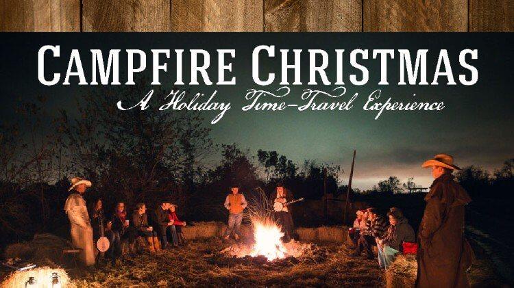 Campfire Christmas Image